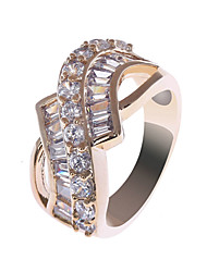 S & V Frauen-18K Rose Gold Plating Zirkon Ring BBR-00285_1