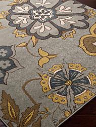 Country Style Floral Laine tuftés Carpette 5 'x 8'