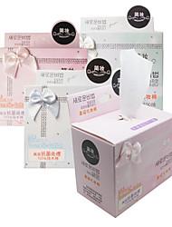 100PCS бантом штучной упаковке эффективным антибактериальным Чистая ватные подушечки