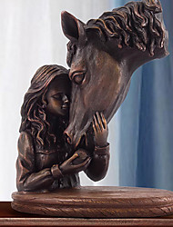 Girl and Horse Home Decor
