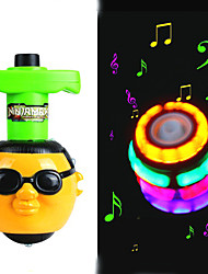 Som Light-up PSY Estilo Peg-Top com Gangnam Estilo Musical