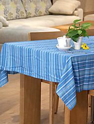 Cotton Stripes Square Table Cloth