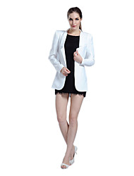 ACOM NO.9 Women's Autumn Long Sleeve Blazers White