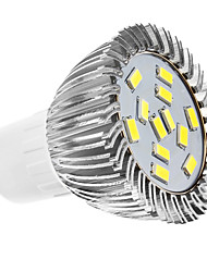 4W GU10 Spot LED MR16 12 SMD 5630 360 lm Blanc Naturel AC 110-130 / AC 100-240 V