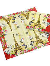 Beverage Napkins - Eiffel (Set of 20)