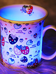 Glowing  Bone China Cups(Random Color)