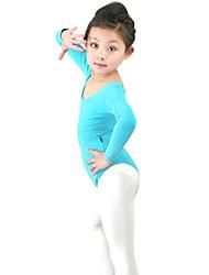 Salão de moda dancewear algodão balé Leotards dança para crianças