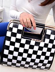 Простые Мода Шахматная Tote