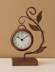 Artistic Metal Table Clock
