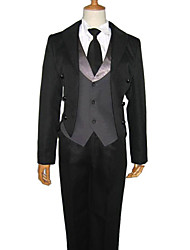 Sebastian Michaelis Black Tie Cosplay Costume