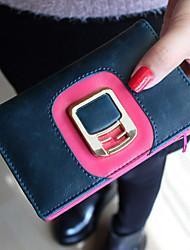 Vintage Contraste Cor Correia Curto Wallet