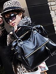 Fashion Quasten Einfache Rivet Umhängetasche