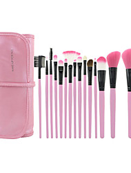 15 Makeup Brushes Set Nylon / Pony / Synthetic Hair / Horse / Others Face / Lip / Eye