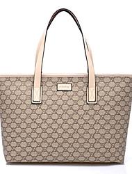 High-Capacity Patent Shoulder Bag in pelle di Charme AIDELA donne