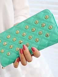 Fashion Rivet prüfen Wallet