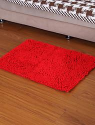 Elaine microfibra antiderrapantes tapetes de chão 50 * 80 centímetros f