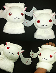 Kyubey/Incubator Rabbit Doll Plush Gloves