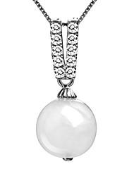 BAFANA Women's Graceful Jadeite Pendant Necklace