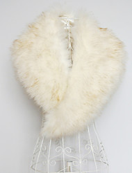 Collars Faux Fur As Picture Shown Wedding / Party/Evening / Office & Career / Casual Yes