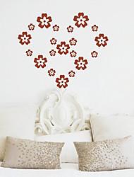 Flor Pequeña etiqueta de la pared