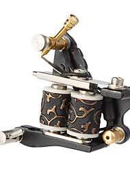 Steel Casting Dual Coils 10 Wraps Tattoo Machine Gun for Liner