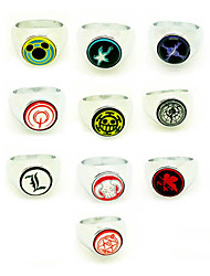 Hot Anime Cosplay Ring Set (10 pieces)