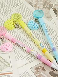 Magnifying Glass and Heart Fragrance Ballpoint Pen(Random Color)