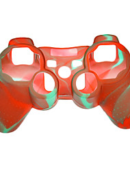 Dual-Color Protective Silicone Case for PS3 Controller