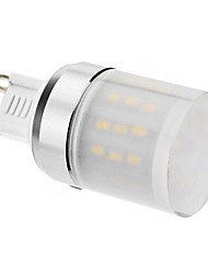 4W G9 LED a pannocchia 48 SMD 3014 320 lm Bianco caldo AC 220-240 V