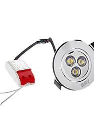 Plafonniers Blanc Chaud 4W 3 LED Haute Puissance 280 LM AC 100-240 V