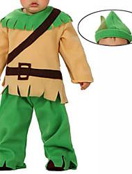 Protecteur de la forêt d'Halloween pour enfants Costume