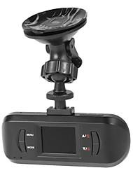 Dual Lens 1080p 1,5 polegadas tela Car DVR H.264 com visão noturna, detecção de movimento