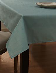 Country Style Light Blue wasserdicht Polyester-Tischdecke