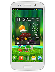 "I9500 Quad Core 5.0"" Android 4.2 Cellphone(1.2GHz,3G,Dual,Camera,Dual SIMs,WIFI,GPS)"