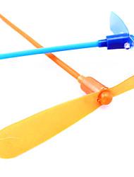 LED volo in elicottero ombrello jet plastica libellula (colore casuale)