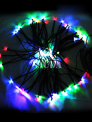 12M Colorful 100Led String Lights Blue Corn Christmas Decoration Fairy Light(Cis-57180)