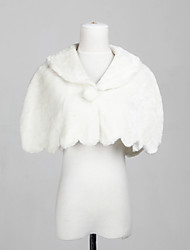 Wedding / Party/Evening / Casual Faux Fur Shawls Sleeveless Fur Wraps