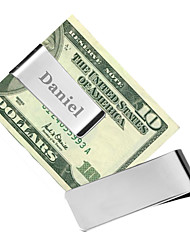Gift Groomsman Personalized Stainless Steal Money Clip