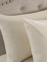 Simple&Opulence® 2-Pack Pillowcase set, 300 TC 100% Cotton Solid Beige