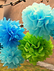 Wedding Décor 8 inch Paper Flower - Set of 4 (More Colors)
