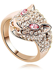 Leopard Ring(Assorted Color & Size)(buy 1 get 3 free gifts)