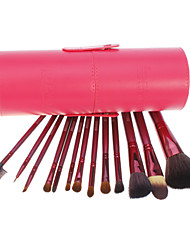 13 Makeup Brushes Set Others / Goat Hair Face / Lip / Eye