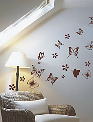 Animal Butterfly Group Wall Stickers