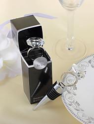 Пробка для бутылок, с декорацией, в виде обручального кольца