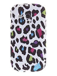 Cor Leopard TPU caso capa de pele para Samsung Galaxy S3 Mini i8190