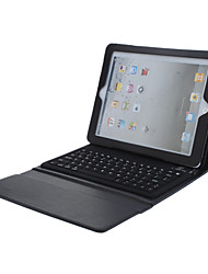 caso de reposo automático w / teclado incorporado del bluetooth para el ipad 4 del ipad 2 del ipad 3 del ipad