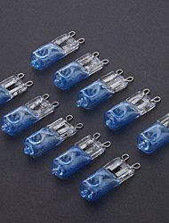G9 40W Plating-Blue Halogen Light Bulb (10pcs)
