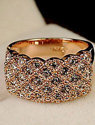 Women's Fashion Fully-jewelled Ring