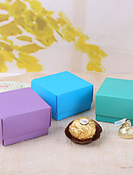 Favor Boxes simples - ensemble de 12 (plus de couleurs)