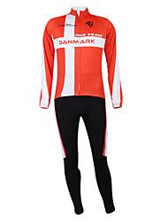 Kooplus2013 Championship Dinamarca Jersey poliéster e Lycra e elástico Ciclismo Suits Tecido (camisa + calça)